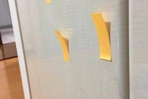補修事例、鏡面クローゼットドア